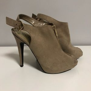 🆕 GUESS   Suede Ankle Bootie